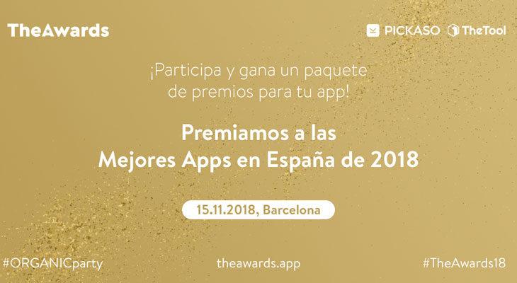 TheAwards premia a las mejores aplicaciones desarrolladas en España