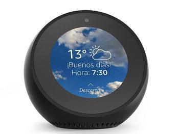 Amazon Echo Spot – Altavoz inteligente con pantalla que se conecta a Alexa