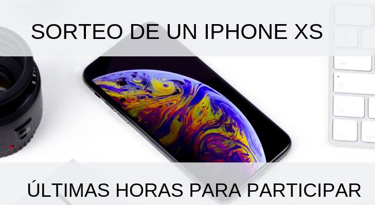 Última llamada para ganar un iPhone XS