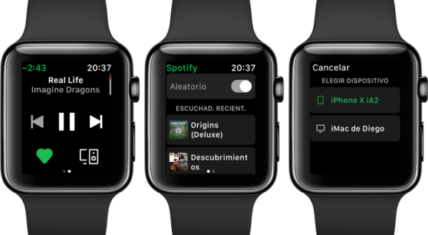 Spotify-en-Apple-Watch