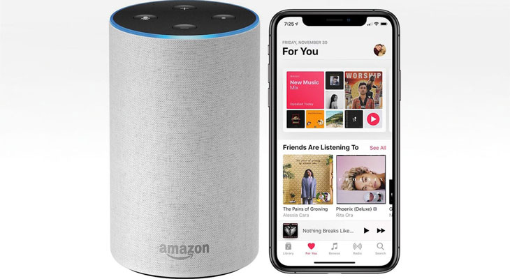Apple Music ya es compatible con altavocez Amazon Echo y Alexa