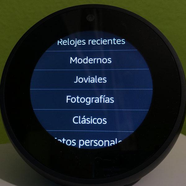 Cambiar-esfera-reloj-Echo-Spot