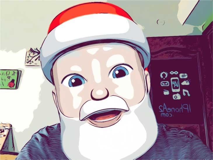 Cómo convertir tu Memoji en Papá Noel