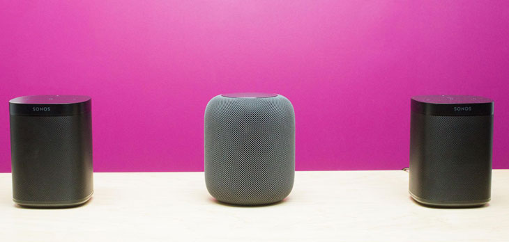 Sonos one-Vs-HomePod