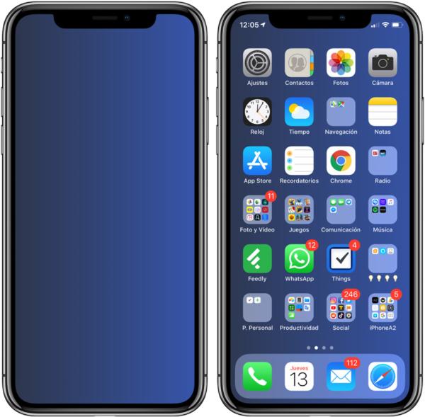 Hacer fondos de pantalla iPhone