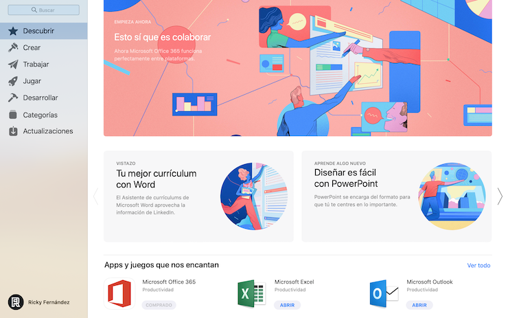 Mac App Store Microsoft Office