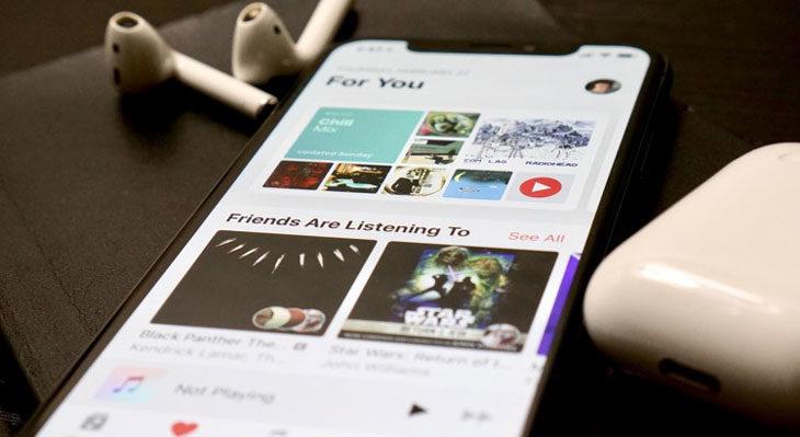 Cómo saber las canciones que más has escuchado en un año en Apple Music