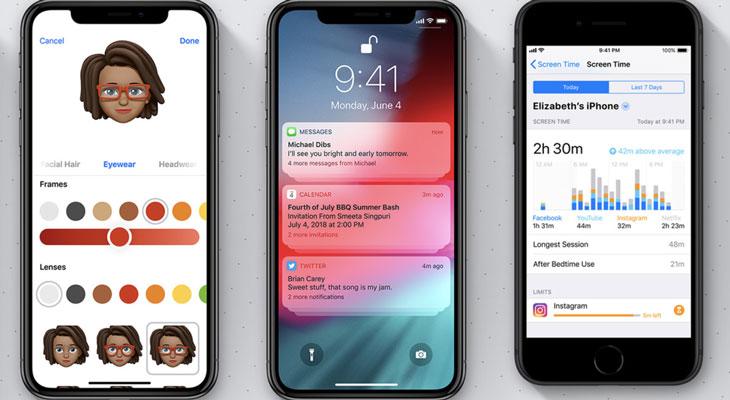iOS 12 ya está instalado en el 75% de los dispositivos