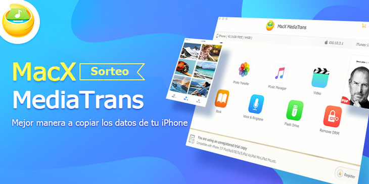 MacX Media Trans, la mejor alternativa a iTunes por fin disponible para Mac