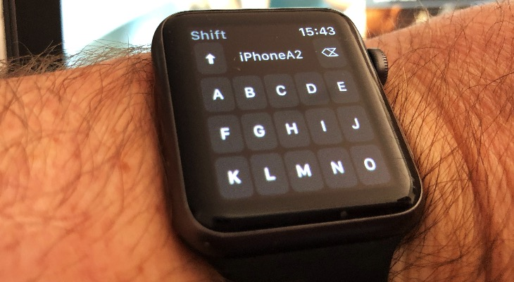 Disponible el primer teclado para Apple Watch