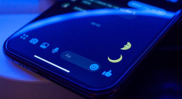 Cómo activar el modo oscuro secreto de Messenger en el iPhone
