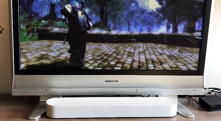 Sonido Sonos Beam videojuegos