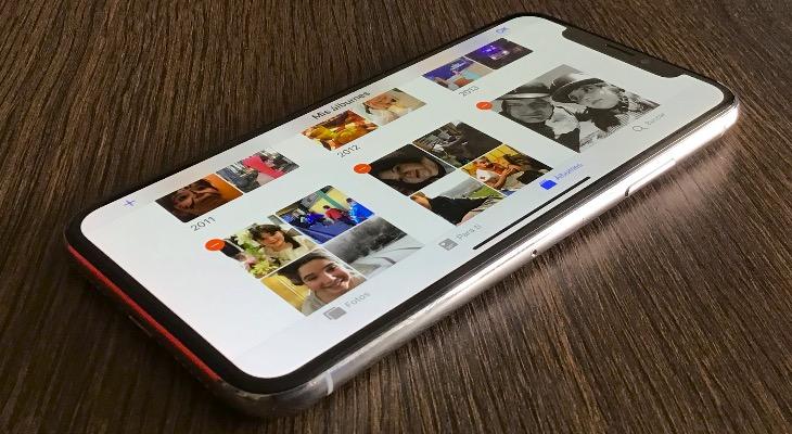 Cómo eliminar álbumes de la App de fotos del iPhone