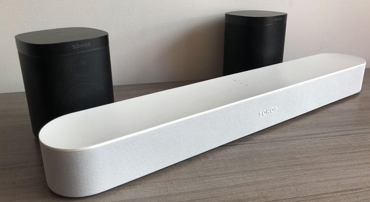 Sonos Beam + 2 Sonos One