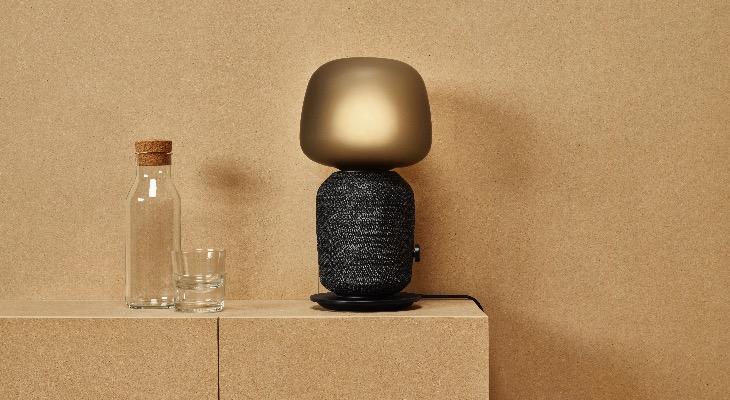 Lámpara altavoz de Ikea y Sonos