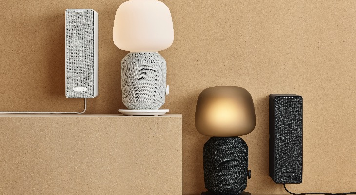 Sonos e Ikea se unen para combinar sonido e iluminación en un solo producto