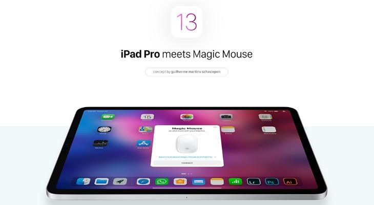 Así podría ser usar un iPad con un ratón