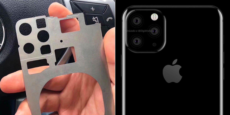 Este podría ser el chasis del iPhone de 2019