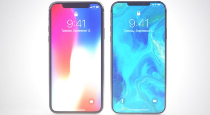 Posible frontal del iPhone XI con el Notch reducido