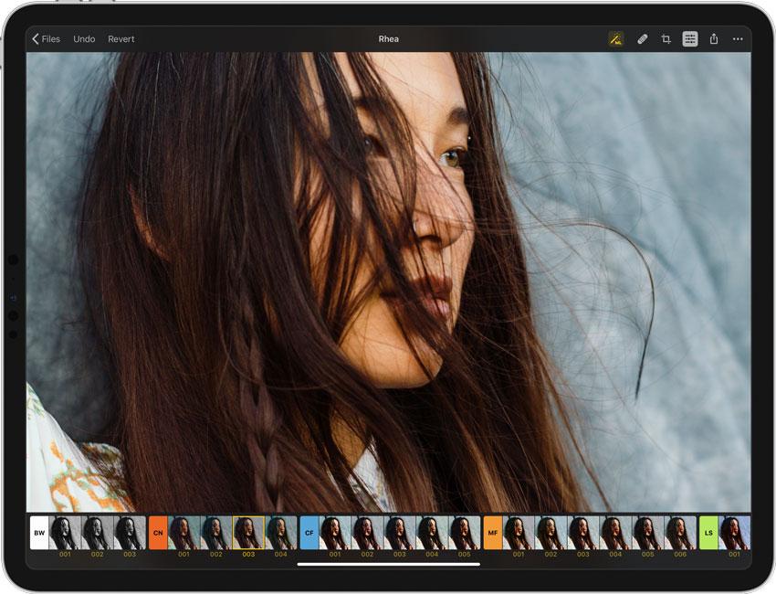 Filtros de Pixelmator Photo