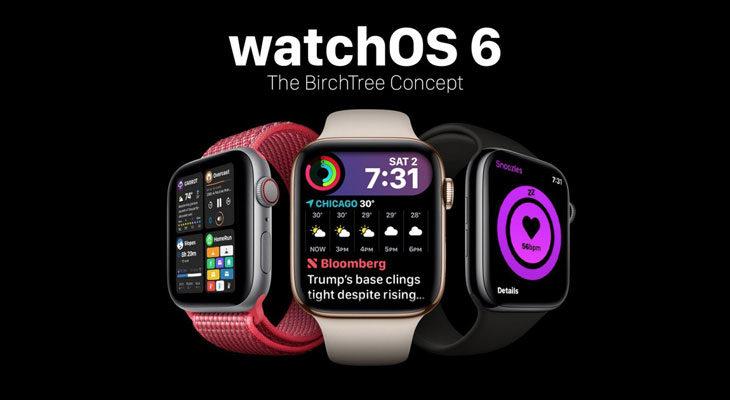 watchOS 6; esto es lo que podríamos ver en la WWDC