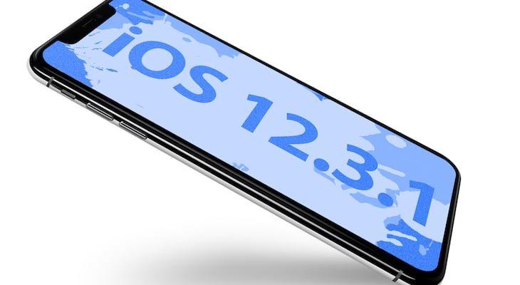 Apple lanza iOS 12.3.1, estas son sus novedades