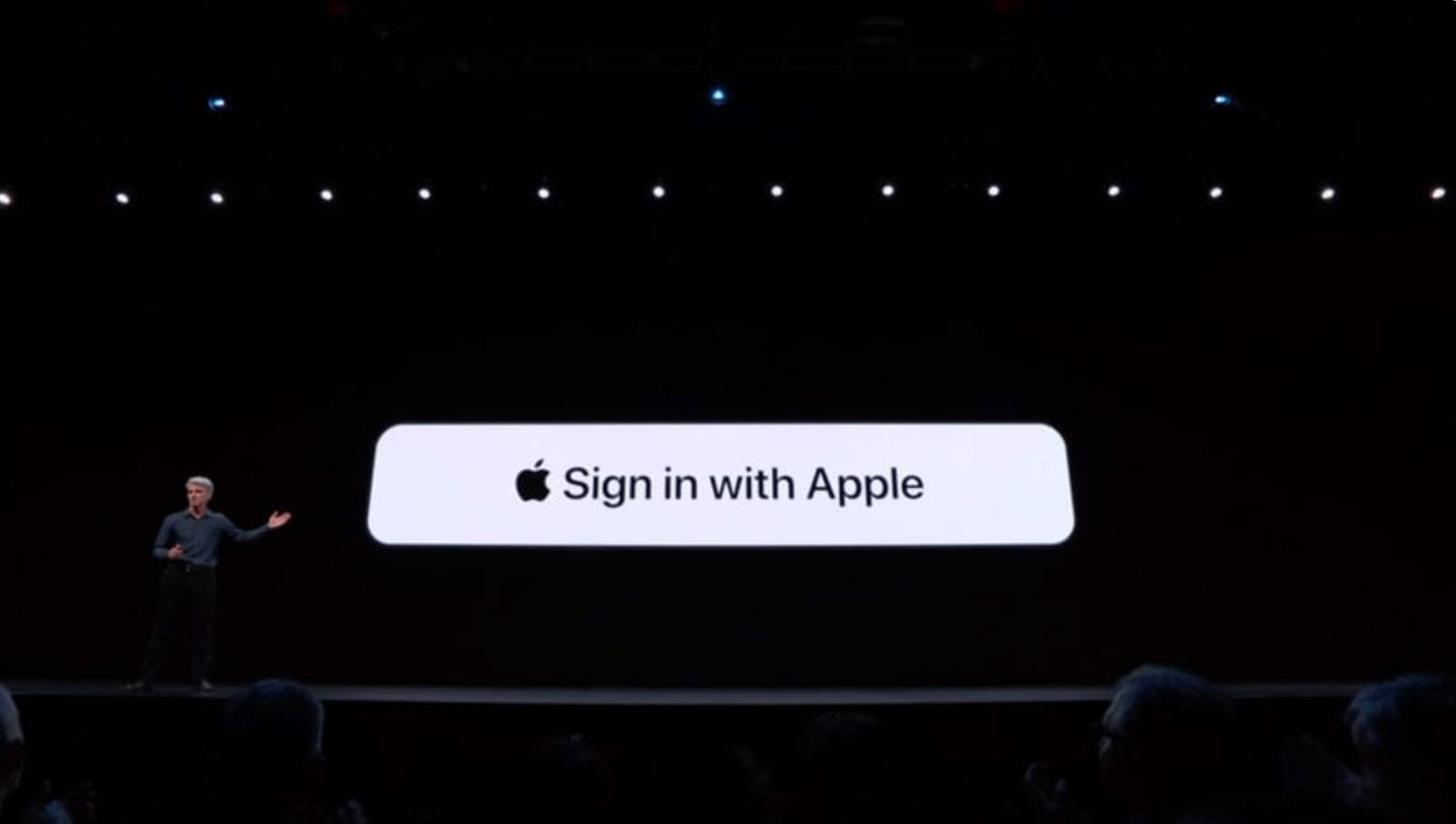 Loguearse con Apple iOS 13