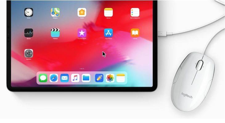 iOS 13 trae compatibilidad de ratón al iPad y al iPhone