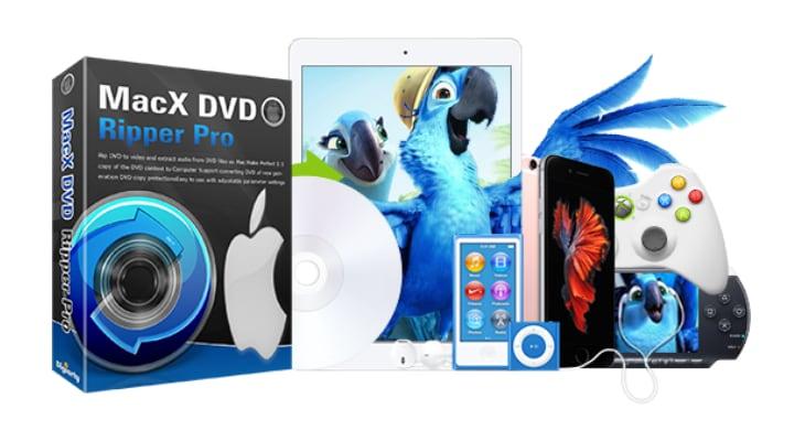 Cómo hacer copias de tus DVD para verlos en el iPhone con MacX DVD Ripper Pro