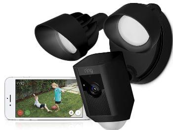 Ring Floodlight Cam | Cámara de seguridad HD con focos