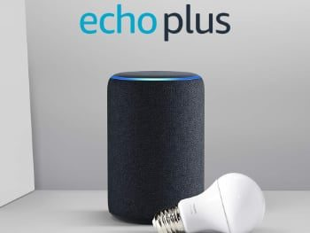 Amazon Echo plus + bombilla inteligente Philips
