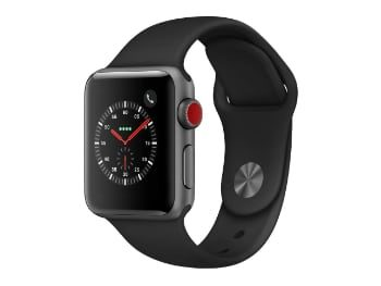Apple Watch Series 3 (GPS + Cellular) con caja de 38 mm
