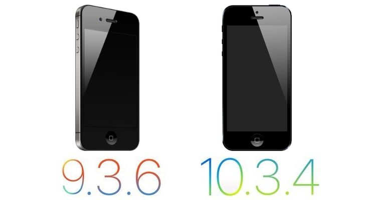 Apple lanza actualizaciones para el iPhone 4s y el iPhone 5