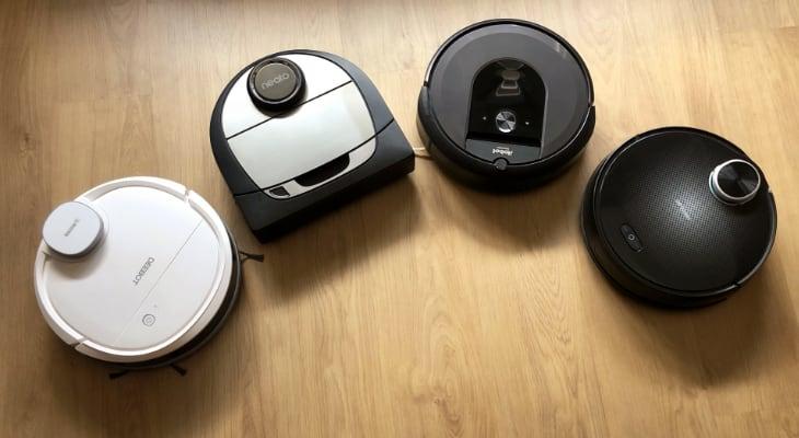Los mejores robots aspiradores con mapeo láser para iPhone