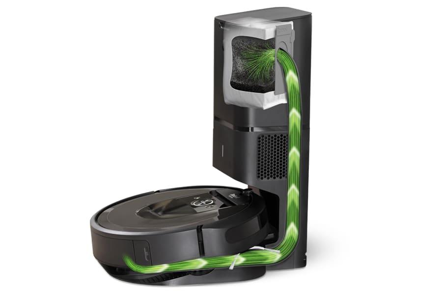 Roomba i7+ con base de limpieza