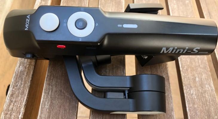 Moza Mini-S El estabilizador plegable para iPhone más barato