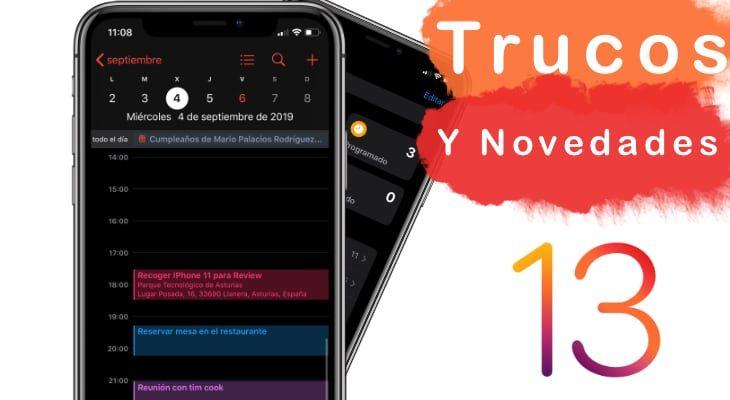 Trucos y novedades de iOS 13 [Vídeos]
