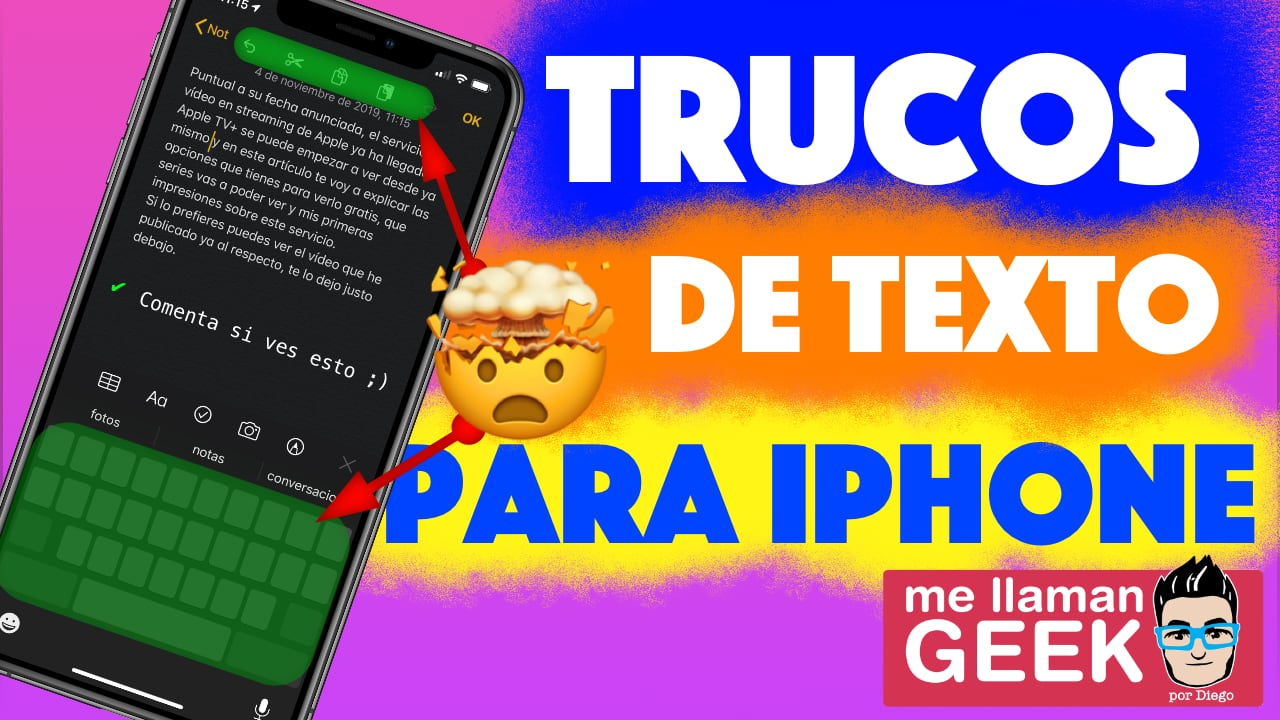 6 Trucos de texto para iPhone [Vídeo]