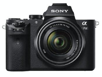Sony Alpha ILCE-7M2K – Cámara EVIL con montura tipo E y sensor de fotograma completo, color negro
