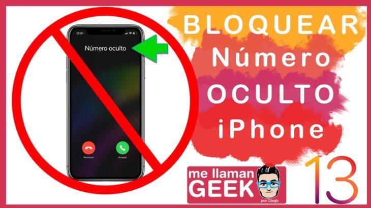 Cómo bloquear llamadas de número oculto o desconocido en tu iPhone