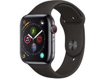 Apple Watch Series 4 (GPS+Cellular) 44mm – Acero inoxidable – Negro espacial