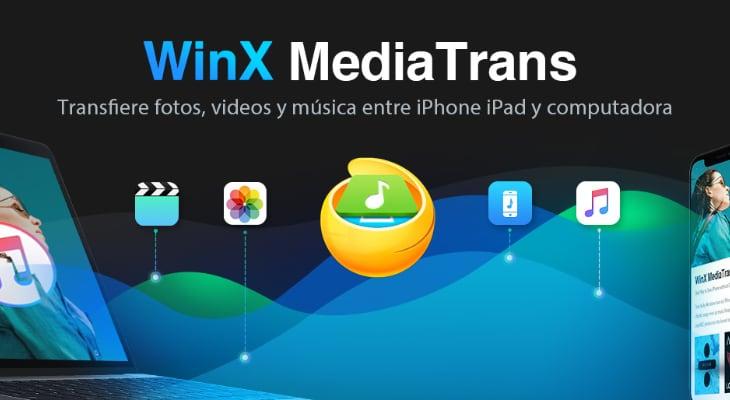 WinX MediTrans: Pasa las fotos de tu iPhone al ordenador de la forma más fácil