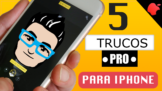 5 Trucos PRO para tu iPhone que descubrí en YouTube [VÍDEO]